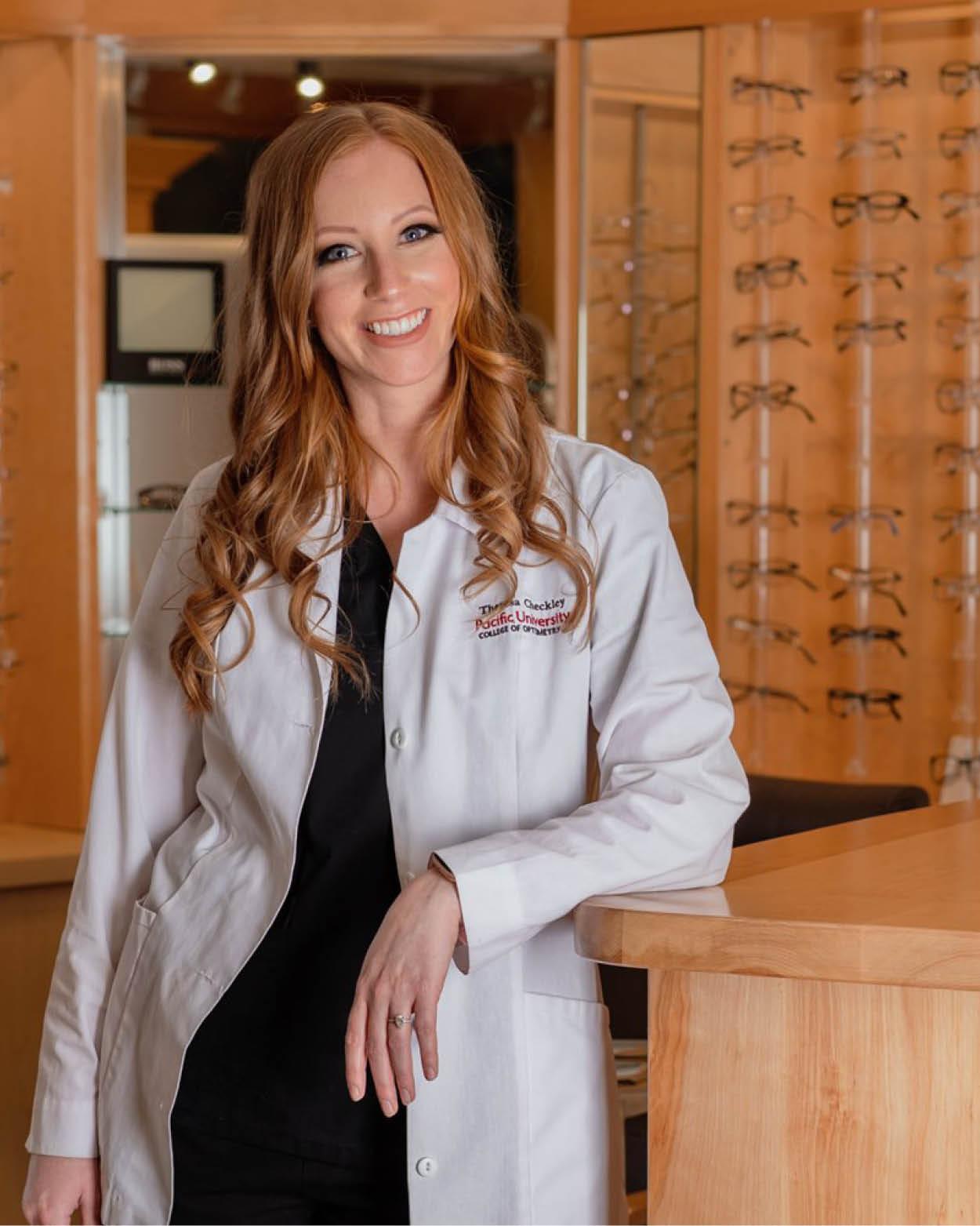Dr. Theresa Checkley Athabasca Eye Doctor